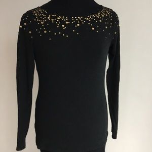 LOFT Sequined Top NWT